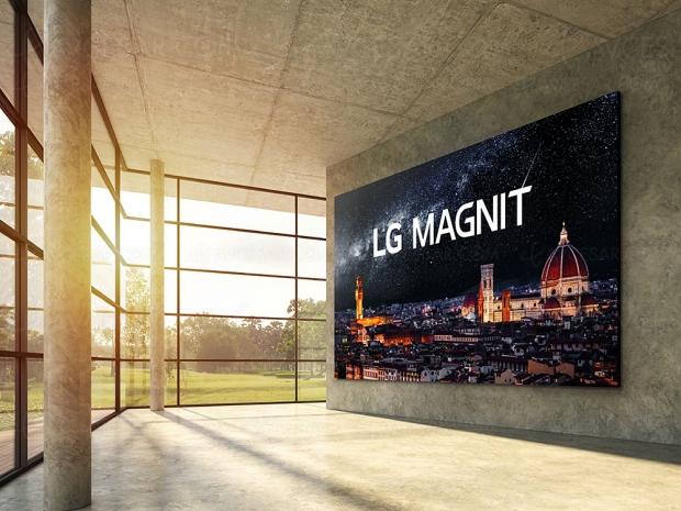 Écran Micro LED LG Magnit 163'', disponibilité immédiate