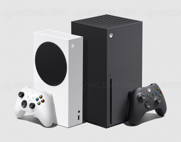 Comparatif Xbox Series S et Xbox Series X