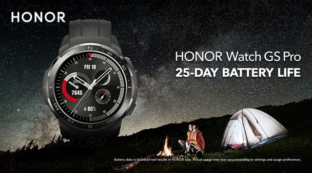 Honor Watch GS Pro, montre connectée pour aventuriers