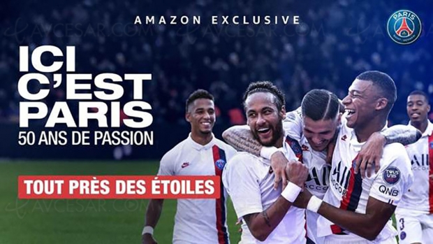 Trailer Ici c'est Paris, premier épisode du documentaire Amazon sur le PSG