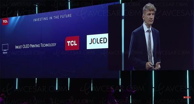 TV QD Oled TCL dévoilée au salon IFA de Berlin 2021 ?