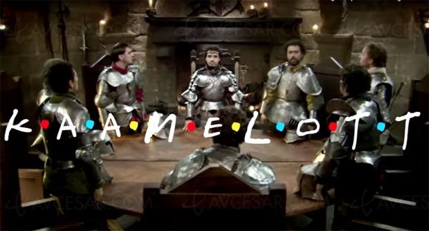 Tous Friends de Kaamelott, le mash‑up qui fait du bien (vidéo)