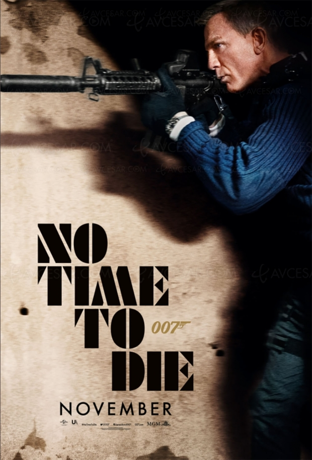 No Time to Die : que veut dire la nouvelle affiche du prochain James Bond ?