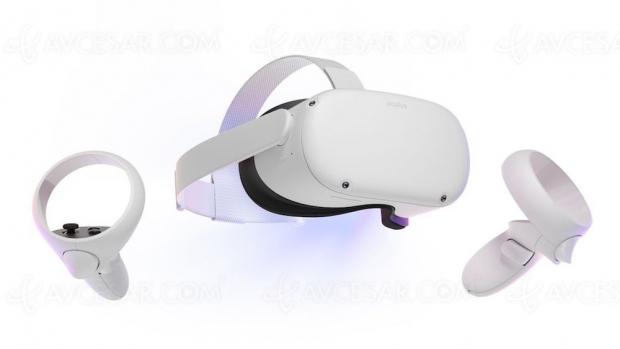 Facebook Oculus Quest 2, nouveau casque VR (réalité virtuelle)