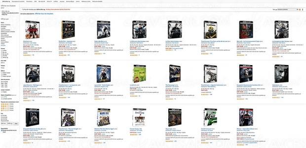 Bons plans Amazon, 63 coffrets Ultra HD 4K à 10 € à saisir !