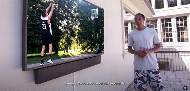 Home Cinéma, Samsung The Terrace, salles de jeu… Visite guidée du basketteur Scottie Pippen