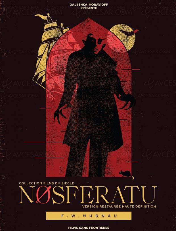 Nosferatu restauré HD, désir et pulsion de mort autour du mythe de Dracula