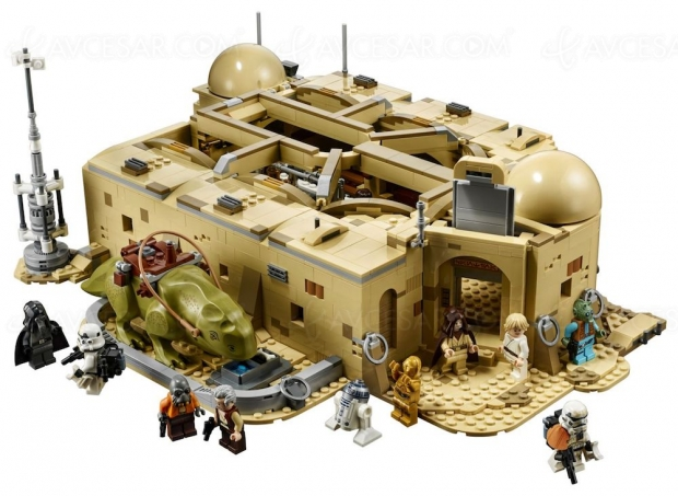 La Cantina de Mos Eisley de Star Wars, en Lego