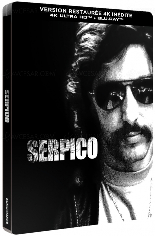 Serpico 4K Ultra HD, la date et le visuel France !