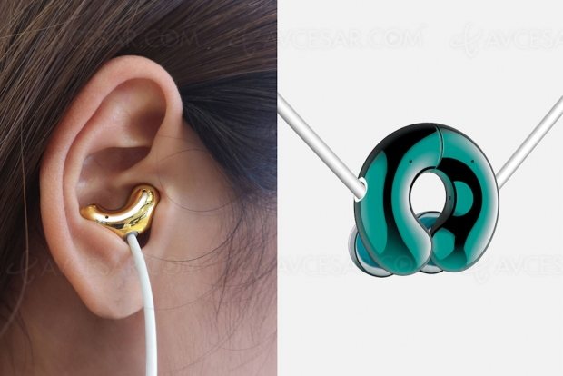 Jade Culture Earphone Jue 20, écouteurs ET collier, la classe audio