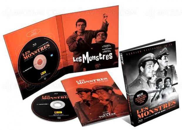Les monstres : la comédie féroce de Dino Risi en mediabook Collector restauré en 4K