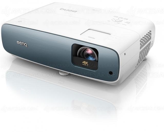 BenQ TK850, simili Ultra HD/4K, HDR10, HDR HLG, interpolation d'images et mode Sport