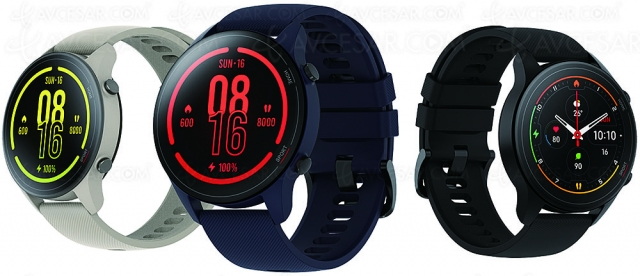 Xiaomi Mi Watch, nouvelle montre connectée à écran rond