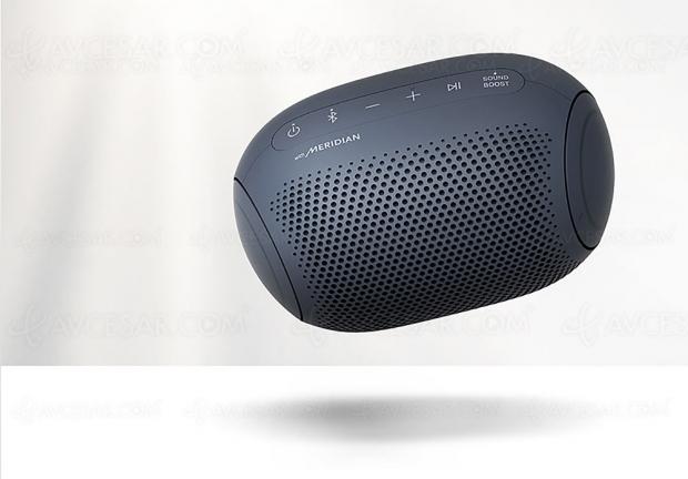 LG Xboom Go PL2 : enceinte Bluetooth nomade, étanche et technologie Meridian