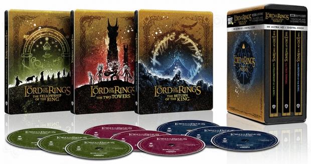 Trilogies Le seigneur des anneaux et Le Hobbit 4K Ultra HD, ça se précise avec de nouveaux visuels officiels ?