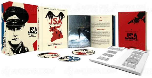 Joint Security Area (JSA), le premier film choc de Park Chan‑wook en coffret Collector