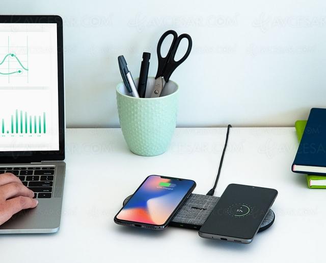 PNY Technologies Wireless Charging Stand et Dual Wireless, nouveaux chargeurs sans‑fil Qi