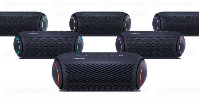 LG Xboom Go PL5 : enceinte Bluetooth nomade stéréo, étanche et technologie Meridian