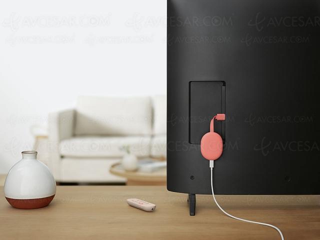 Chromecast avec Google TV, nouvelle clé streaming