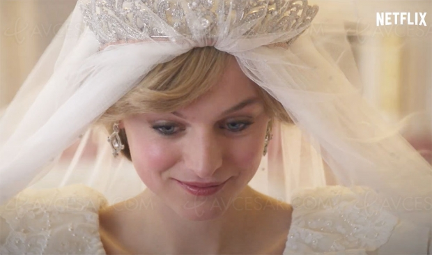 Teaser officiel The Crown saison 4 : Emma Corrin est Lady Diana Spencer