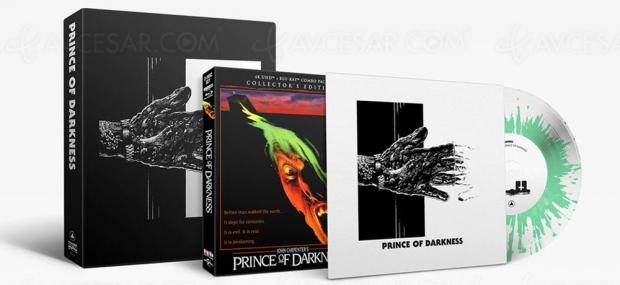 John Carpenter annonce Prince des ténèbres en coffret Collector 4K Ultra HD + vinyle