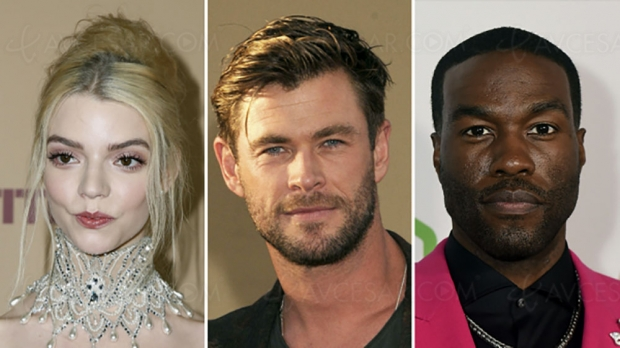Anya Taylor‑Joy et Chris Hemsworth au casting de Furiosa (Mad Max)