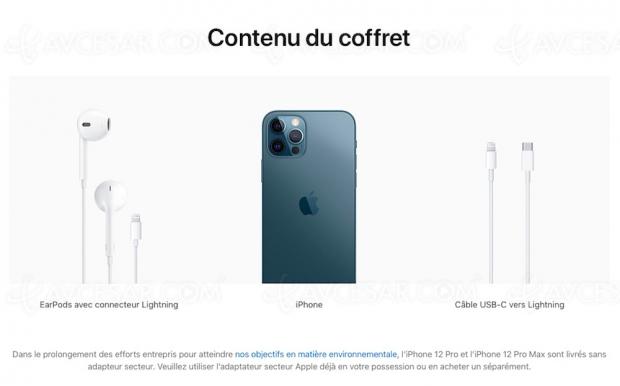 iPhone 12 livrés sans écouteurs… sauf en France !