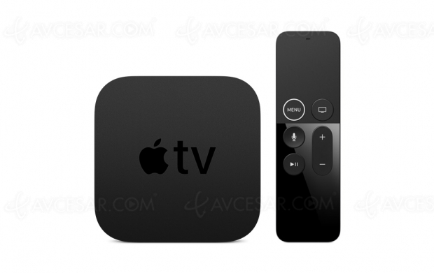 Nouveau boîtier Apple TV prochainement ?