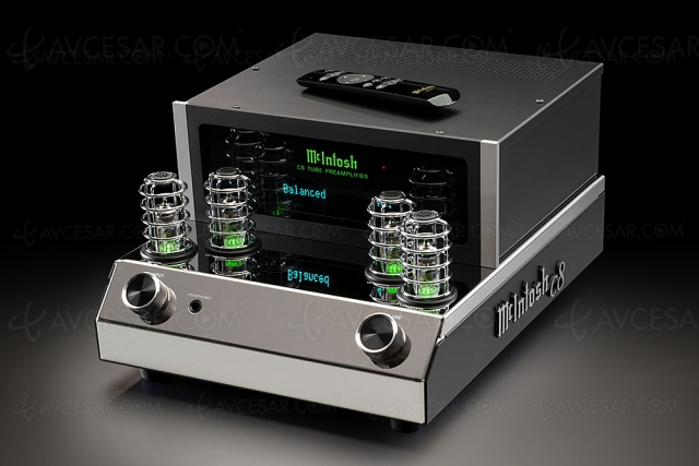McIntosh C8, nouveau préamplificateur stéréo à tubes