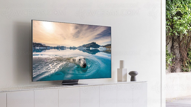 Test TV QLED Ultra HD/4K Samsung QE55Q95T, en ligne