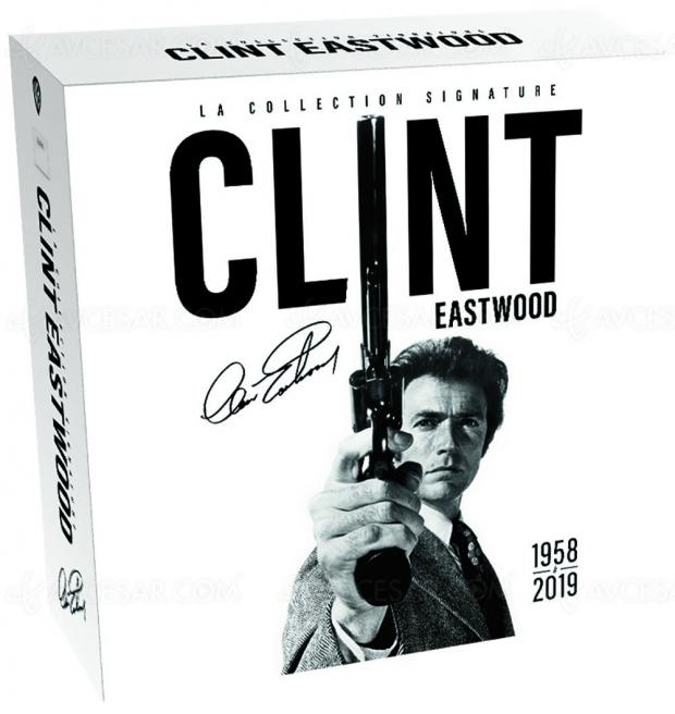 Toute la carrière de Clint Eastwood dans un coffret inédit chez Warner