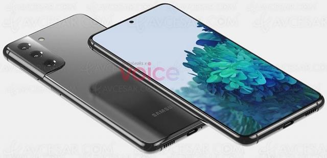 Samsung Galaxy S21, premières images fuitées, sortie en janvier