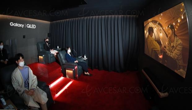 Film Samsung 8K tourné avec les smartphones Galaxy S20