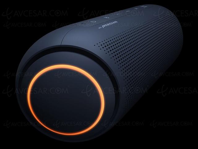 LG Xboom Go PL7 : enceinte Bluetooth nomade stéréo, étanche et technologie Meridian