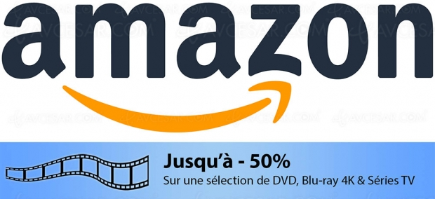 Soldes Amazon, 3 000 4K Ultra HD Blu‑Ray, Blu‑Ray et DVD jusqu'à -50%
