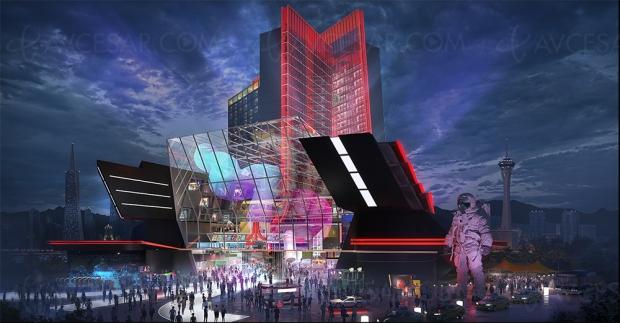 Hôtels du futur Atari, nouvelles images mais construction repoussée