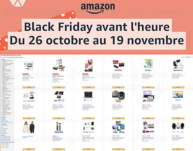 Pré-Black Friday 2020 Amazon, 5 566 offres jusqu'à ‑77%