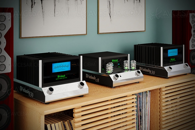 McIntosh MC830, nouvel amplificateur mono