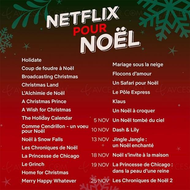Netflix, déjà les boules de Noël ? Demandez le programme !