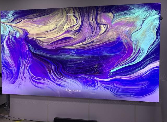 Deux TV Micro LED Samsung attendus en 2021