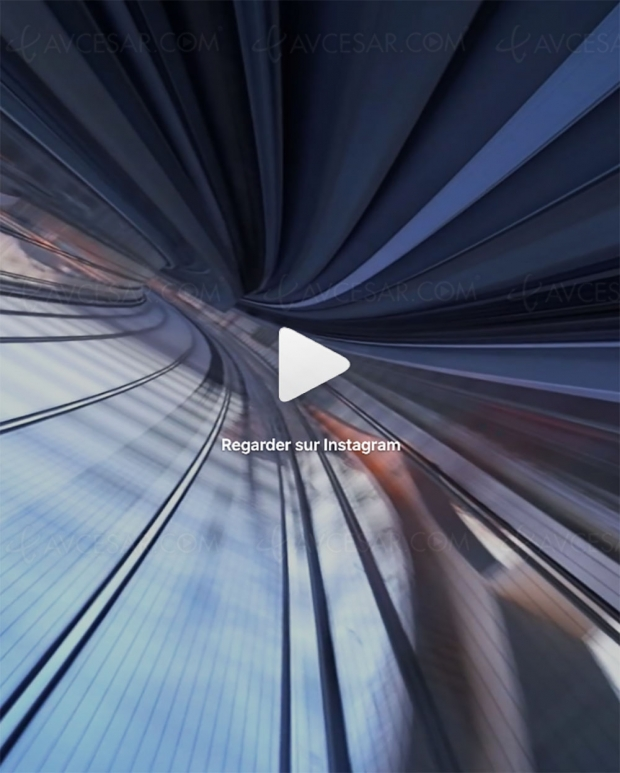 Vidéo renversante avec un simple iPhone en mode 360°