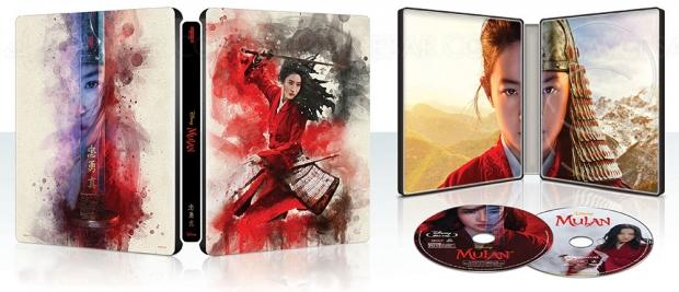 Mulan le film 4K Ultra HD + Mulan animation 4K Ultra HD = encore un coup gagnant Disney