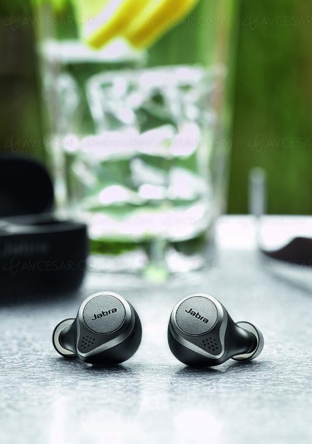 True Wireless Jabra Elite Active 75t/Elite 75t, annulation de bruit gratuite