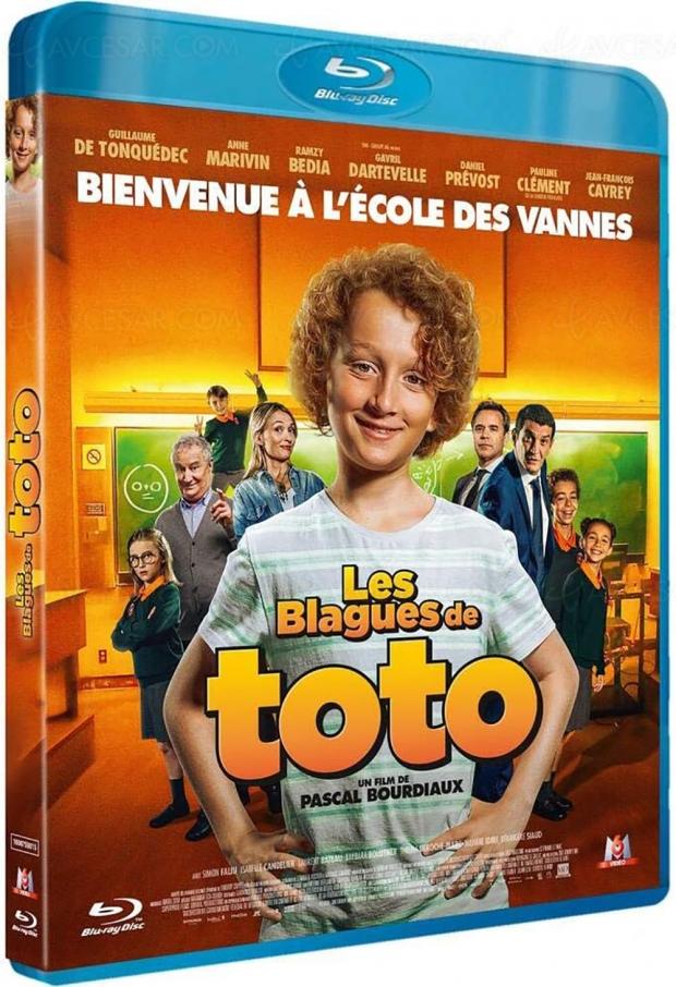 Les blagues de Toto: le succès de l'été2020 en Blu-Ray/DVD pour Noël
