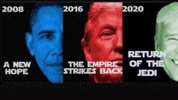Obama, Trump et Biden dans Star Wars ?
