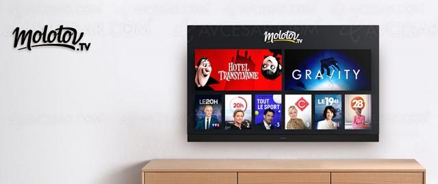 Panasonic et Molotov lancent le TV sans tuner, en Wi‑Fi ou Ethernet