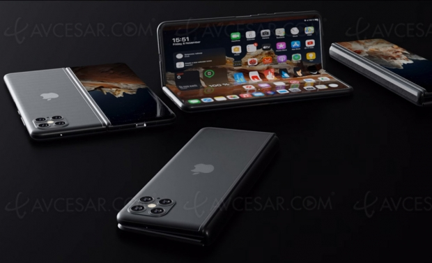 iPhone Fold, prochain smartphone pliable d'Apple ?