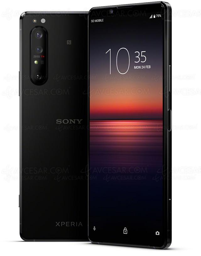 Test smartphone Sony Xperia 1 II, en ligne