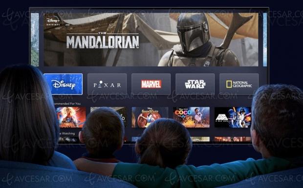 73 millions d'abonnés Disney+, sur les talons de Netflix