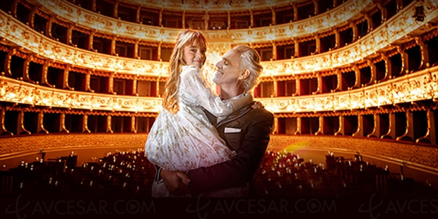 Andrea Bocelli, son concert de Noël bientôt en livestream (réservations)